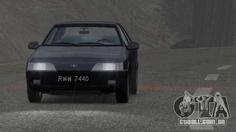 Daewoo Espero 2.0 CD 1996 para GTA 4 vista direita