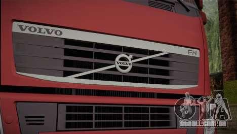 Volvo FH 420 para GTA San Andreas vista traseira