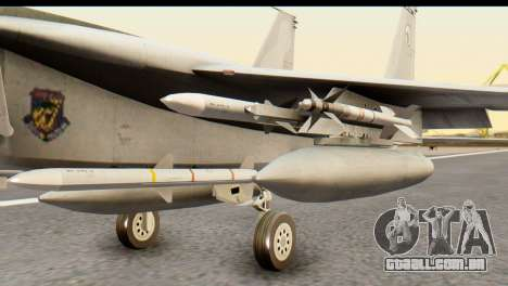 F-15DJ Mitsubishi Heavy Industries para GTA San Andreas vista direita