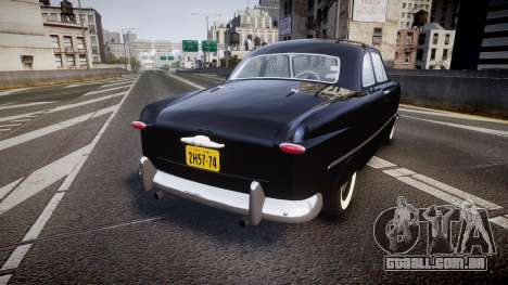 Ford Custom Club 1949 v2.1 para GTA 4 traseira esquerda vista
