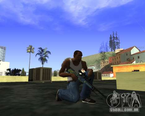 Skins Weapon pack CS:GO para GTA San Andreas segunda tela