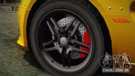 Mercedes-Benz SLR McLaren Stirling Moss para GTA San Andreas traseira esquerda vista