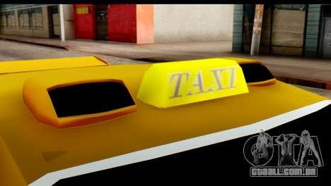 Peugeot 407 Sport Taxi para GTA San Andreas vista interior