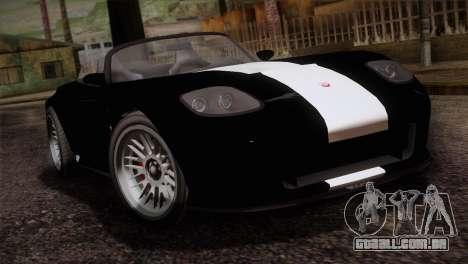 GTA 5 Invetero Coquette v2 IVF para GTA San Andreas vista traseira