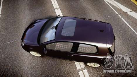 Volkswagen Golf Mk6 GTI rims2 para GTA 4 vista direita