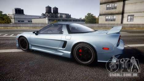 Honda NSX 1998 [EPM] para GTA 4 esquerda vista