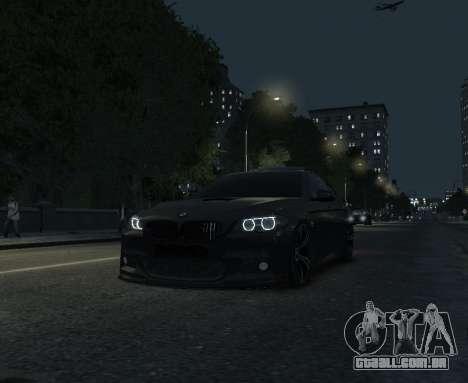 BMW M5 F10 2014 para GTA 4 vista de volta