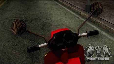 Original Pizzaboy IVF para GTA San Andreas vista direita