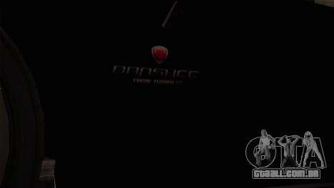 GTA 5 Invetero Coquette v2 IVF para GTA San Andreas vista direita