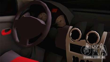 Dacia Logan Most Wanted Edition v3 para GTA San Andreas vista direita