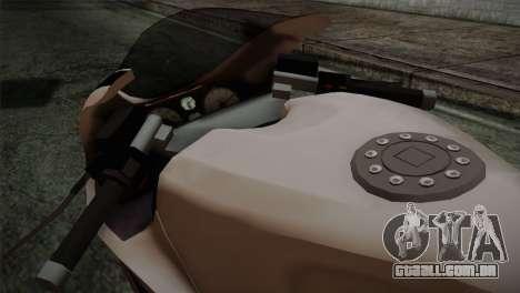 GTA 5 Bati Police para GTA San Andreas vista direita