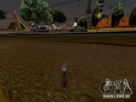O Lançamento De Fogos De Artifício para GTA San Andreas por diante tela
