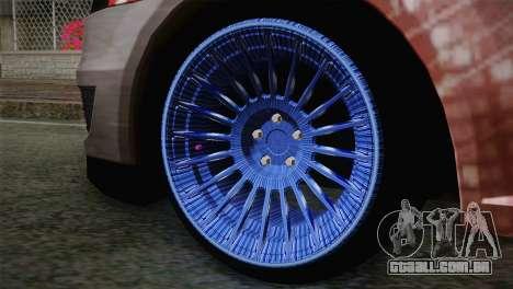 Dacia Logan Most Wanted Edition v2 para GTA San Andreas traseira esquerda vista