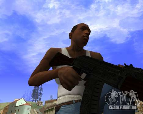 Skins Weapon pack CS:GO para GTA San Andreas nono tela