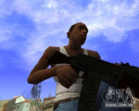 Skins Weapon pack CS:GO para GTA San Andreas nono tela