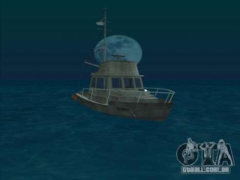 Reefer из GTA 3 para GTA San Andreas esquerda vista