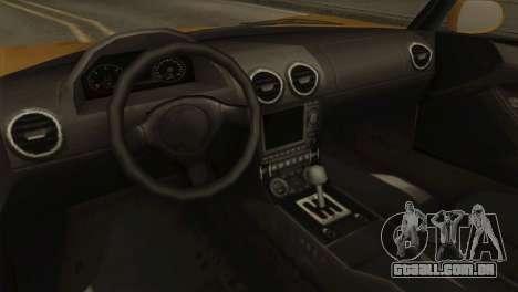 GTA 5 Coil Voltic v2 SA Mobile para GTA San Andreas vista traseira
