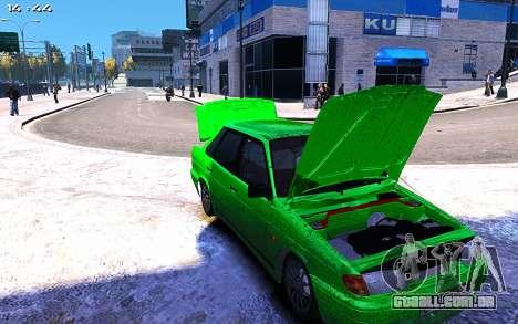 Lada 2115 para GTA 4 vista de volta