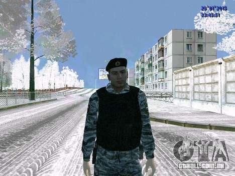 O lutador OMON para GTA San Andreas
