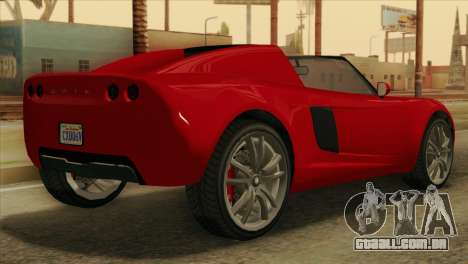 GTA 5 Coil Voltic v2 para GTA San Andreas esquerda vista