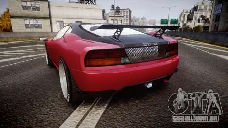 Grotti Turismo GT Carbon v3.0 para GTA 4 traseira esquerda vista