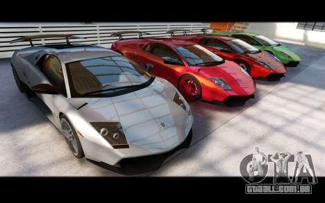 Forza Motorsport 5 Garage para GTA 4 nono tela