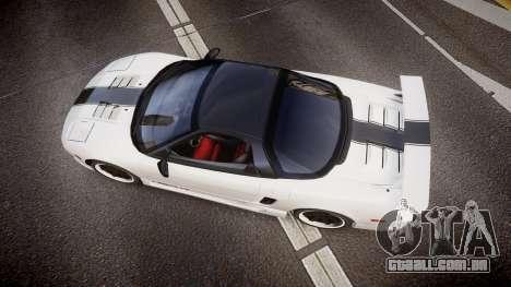 Honda NSX 1998 [EPM] nsx-r para GTA 4 vista direita