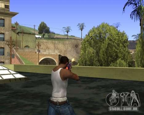 Skins Weapon pack CS:GO para GTA San Andreas sexta tela