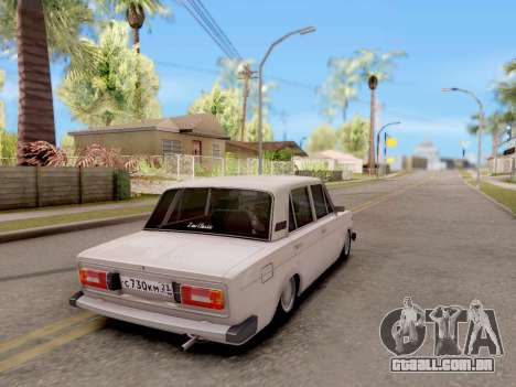 VAZ 2106 Clássico para GTA San Andreas esquerda vista