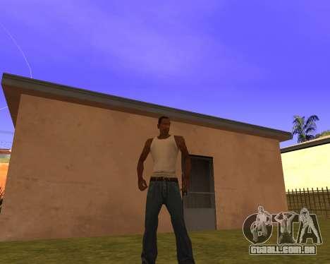 New Animation by EazyMo para GTA San Andreas segunda tela