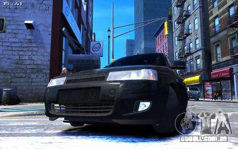 Lada 2110 para GTA 4 traseira esquerda vista