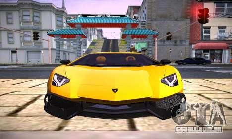 ENB por Dmitriy30rus para PC fraco para GTA San Andreas segunda tela