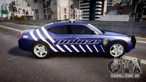 Dodge Charger 2010 Police [ELS] para GTA 4 esquerda vista