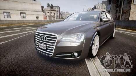 Audi A8 L 4.2 FSI quattro para GTA 4