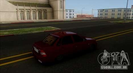 VAZ 2170 Cáspio Carga para GTA San Andreas esquerda vista