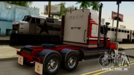 Mack Superliner 6x4 para GTA San Andreas esquerda vista