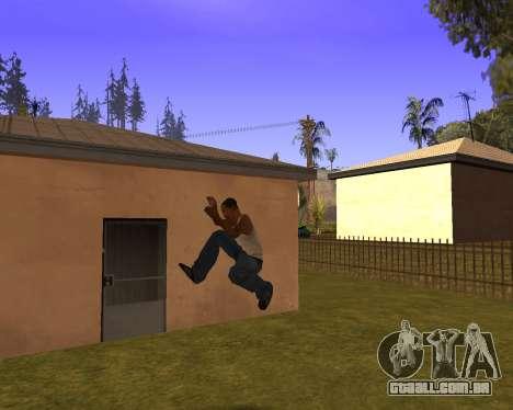 New Animation by EazyMo para GTA San Andreas sexta tela
