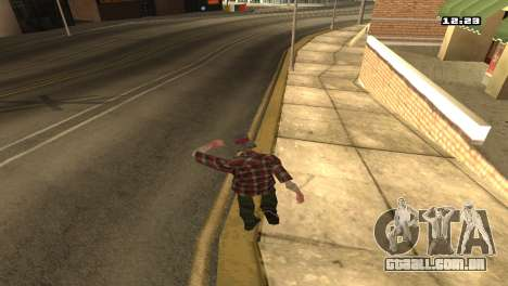 Misto de estilos de luta para GTA San Andreas segunda tela