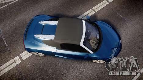 Audi R8 Spyder 2014 [EPM] para GTA 4 vista direita