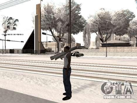 Colormod v5 para GTA San Andreas quinto tela