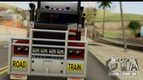 Mack Superliner 6x4 para GTA San Andreas vista traseira