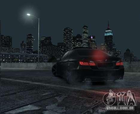 BMW M5 F10 2014 para GTA 4 esquerda vista