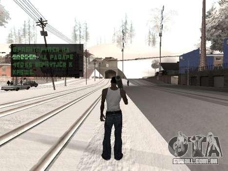 Colormod v5 para GTA San Andreas por diante tela