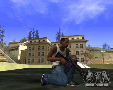 M4A1 Cross Fire para GTA San Andreas