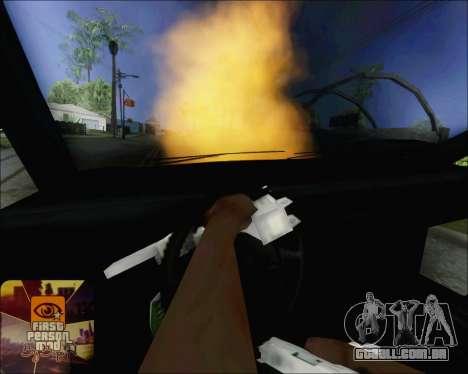 Andando em carros queimados para GTA San Andreas terceira tela