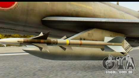 F-4EJ Mitsubishi Heavy Industries para GTA San Andreas vista direita