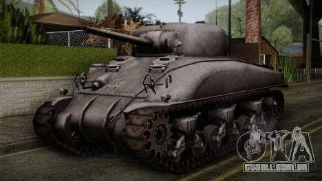 M4 Sherman para GTA San Andreas