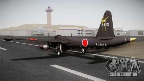 P2V-7 Lockheed Neptune RCAF para GTA San Andreas esquerda vista