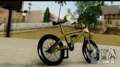 GTA 5 BMX para GTA San Andreas esquerda vista