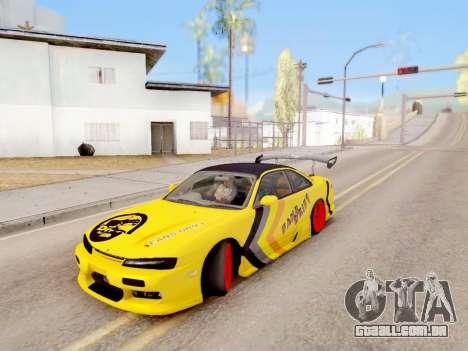 Controle Real do GTA 4 para GTA San Andreas segunda tela